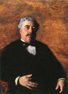 Πορτρέτο M. Sidrot (1881) Μουσείο Καλών Τεχνών στην πόλη Νανσύ της Γαλλίας