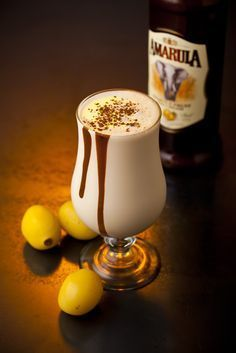 Amarula Coffee Dom Pedro: Mix of Amarula, of espresso, of vanilla ice cream and of thick cream into a cocktail shaker or blender. Shake or blend thoroughly and pour into a tall, milkshake glass. Sprinkle some chocolate power on the top and indulge! South African Dishes, South African Recipes, Party Drinks, Fun Drinks, Beverages, Cocktail Drinks, Pink Cocktails, Cocktail Shaker, Summer Drinks