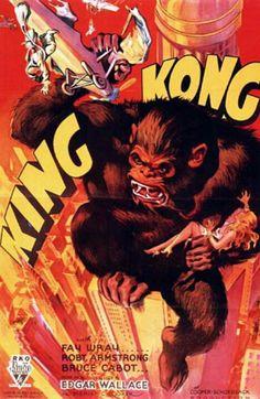 "Movie poster, ""King Kong"", 1933"