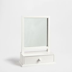 Wooden mirror with draw base - Mirrors - Decoration | Zara Home Hong Kong