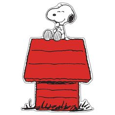 Snoopy on Dog House Paper Kids Cut Outs Classroom decoration idea