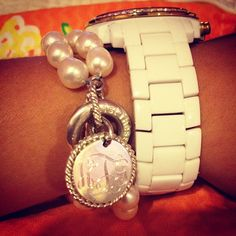 Photo by waccamawpearl Pearl Bracelet, Bracelet Watch, Southern Belle, Classy Women, Wardrobe Staples, Jewelry Accessories, Gems, Pearls, Purses