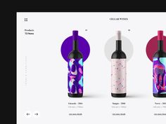 Wine Product Site designed by Stephan Mann. Connect with them on Dribbble; Website Design Layout, Web Layout, Website Designs, Website Ideas, Layout Design, Wine Websites, Luxury Website, Candle Packaging, Beer Company