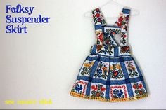 Sew Country Chick: Sewing, Crafts, and Vintage Style: A Folksy Suspender Skirt