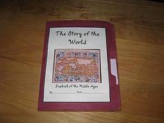 History lapbooks for homeschooling.