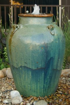 Nice For More Beautiful Pottery And Water Features, Please Also Check Out:  Www.jacksonpottery. Diy FountainContainer PlantsContainer GardeningOutdoor  ...