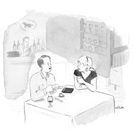 """""""How much do we have to leave to avoid a social-media incident?"""" Cartoons from the Issue of May 12th, 2014 : The New Yorker"""