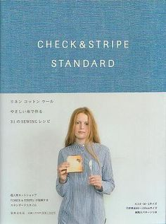 Check & Stripe Standard - Japanese Sewing Pattern Book for Women and Children - JapanLovelyCrafts