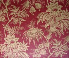 brewster red jacobean floral - photo #37