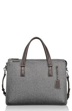 Free shipping and returns on Tumi 'Sinclair - Nina' Coated Canvas Commuter Briefcase at Nordstrom.com. Make your morning commute a little more manageable with this smart briefcase durably crafted from textured coated canvas. A trio of padded compartments safely store your laptop or tech gear, while an adjustable crossbody strap provides ultimate around-town convenience.