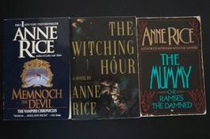 Anne Rice Vampire Novels 5 Book Trade Paperback Lot