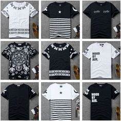 HE 108 new 2014 summer Harajuku Pyrex rock Hood by air Ktz HBA Printed t shirt men Hip hop Casual shirt Men t shirt Clothing-in T-Shirts from Apparel & Accessories on Aliexpress.com | Alibaba Group