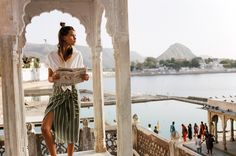 """somerollingstone: """"Olivia Aarnio by Brydie Mack for Faithfull the Brand Summer 2017 """" Indie, Feminine Tomboy, Diamonds In The Sky, Cute Bras, Faithfull The Brand, Magic Carpet, Trends, India Travel, Outfit"""