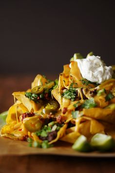 ... nachos honestlyyum # superbowl more cheese nachos homemade nachos beer