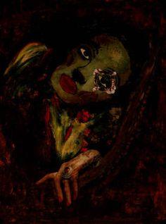 "Saatchi Art Artist CARMEN LUNA; Painting, ""75-Expressions of Carmen Luna. Marlene Dietrich."" #art http://www.saatchiart.com/art-collection/Painting-Mixed-Media/Expressions-of-Carmen-Luna/71968/25377/view"