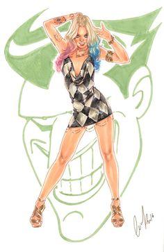 Harley Quinn by Elias-Chatzoudis.deviantart.com on @DeviantArt
