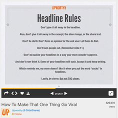 Do your headlines capture the attention of the right people