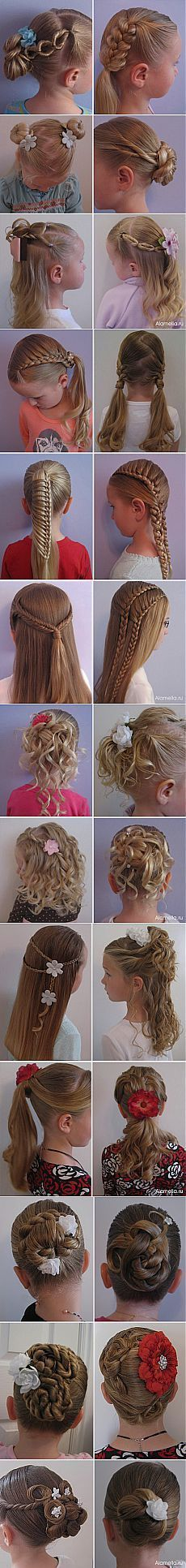 Hairstyles for girls.