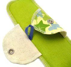 Postpartum Kit - Moonpads Reusable Washable Organic Cotton Cloth Menstrual Pads. $60.00, via Etsy.