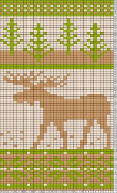 Tricksy Knitter Charts: 3 moose copy (110745) by christine1