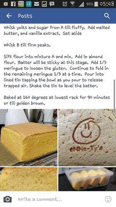 Almond Butter sponge cake 2