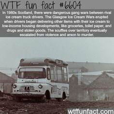 Glasgow Ice Cream Wars - WTF fun facts