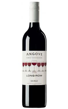 Angove Long Row Shiraz 2017 South Australia - 12 Bottles Australian Shiraz, New Zealand Wine, Wine Tasting Notes, Plum Fruit, Wine And Food Festival, Wine Logo, Buy Wine Online, South Australia, Wine Australia
