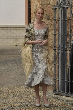 Lauren Santo Domingo attends the wedding of Alejandro Santo Domingo and Lady Charlotte Wellesley on May 2016 in Illora, Spain Wedding Of The Year, Wedding With Kids, Wedding Ideas, Lady Charlotte Wellesley, Andrea Casiraghi, Vanity Fair, Camille Gottlieb, Glamour, Fashion Mode