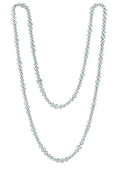 """""""Pirates"""" Diamond Opera Necklace...our classic opera necklace with a modern twist!"""
