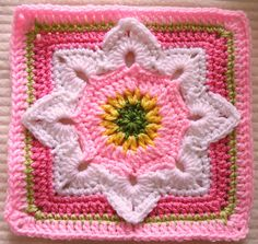 Ravelry: Maryfairy's Eight Pointed Flower -Week 7 B.A.W.L. CAL
