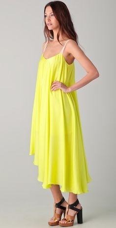 Elegant #Neon #Dress