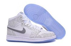 New Air Jordan 1 Retro High OG Laser White Metallic Silver - Mysecretshoes  New Jordans Shoes c86161e58