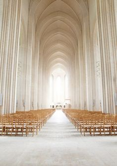 Angelic wedding cathedral for the ultimate white wedding