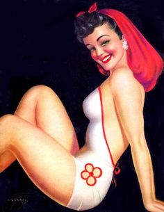 Beauty Parade 1955 06 Cover art by Billy de Vorss Uñas Pin Up, Pin Up Art, Girls Show, Pin Up Girls, Gals Photos, Pin Up Pictures, Art Through The Ages, Pin Up Posters, Pin Up Photography