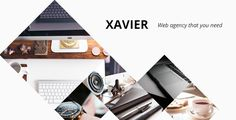 Xavier - Portfolio and Agency WordPress theme by pego Xavier ¨C Agency, Portfolio, Business Wordpress theme Xavier is a WordPress theme with which you can present your work. It can be u