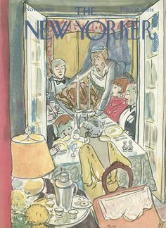 The New Yorker - Saturday, November 30, 1935 - Issue # 563 - Vol. 11 - N° 42 - Cover by : Alice Harvey