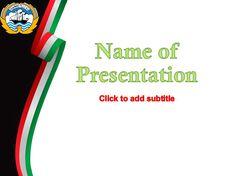 Kuwait presentation template