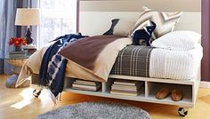 This twin-size daybed is easy to make and provides lots of storage. You can build it in just a weekend!