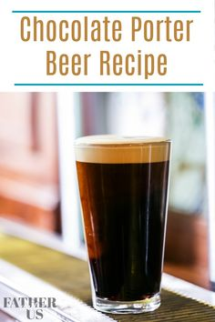 You have got to try this easy home brew recipe for my delicious Chocolate Porter. This extract recipe is perfect for beginners or those experienced in home brewing. It isn't a clone of any well known porters, just a recipe I have developed. I have also included some brewing tips to get you started on brewing your own tasty beer. Your friends and family will love this one! #porter #homebrewrecipe #homebrewing