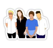 One Direction Pegatina