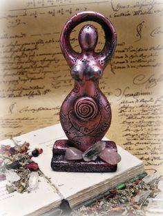 Goddess of love statue wicca pagan new age by SpellboundOriginalz