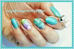 me, myself and my nails: Wiosenne turkusy... - ZILA 125 blue lagoon + brans...