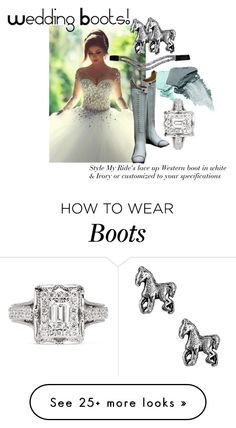 """Wedding Boots for your Special Day!"" by stylemyride on Polyvore featuring NARS Cosmetics, Jewel Exclusive and Vera Wang"