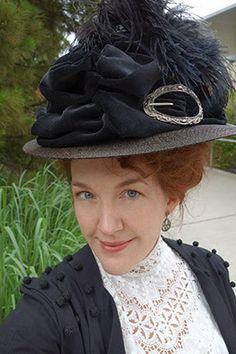 Fabulous Edwardian hat by Festive Attyre