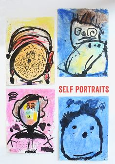 Self Portraits - Great art activity for year olds The Effective Pictures We Offer You About Montessori Activities 18 months A quality picture can tell you many things.