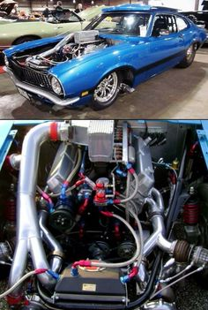1971 Ford Maverick 360 Twin Turbo this is as nice of one you'll see. Never liked the body style.