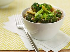 Simple Broccoli Stir-fry: Stir-frying has stood the test of time. It's a wonderful way to cook small pieces of vegetables and meat quickly, without a lot of fat. Prepping your ingredients ahead of time and having them near your stovetop is the key to success for this recipe.