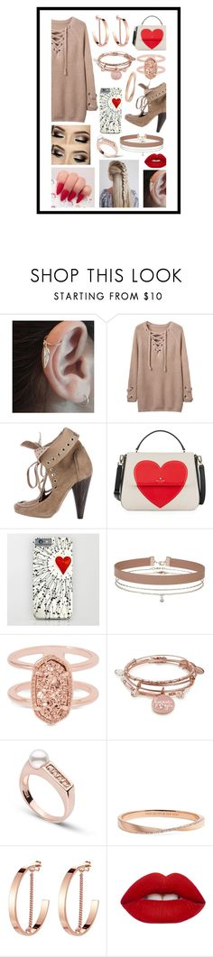 """Untitled #247"" by sodenoshirayuki-kuran ❤ liked on Polyvore featuring WithChic, Isabel Marant, Kate Spade, Miss Selfridge, Kendra Scott, Alex and Ani, Jenny Bird and Lime Crime"