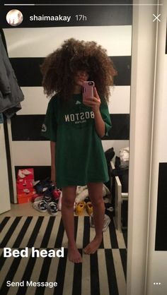 Shaimaakay big curly natural hair
