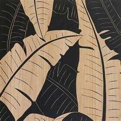 Palm Leaf Art -  Palm Leaf Motif - Home Decor Trend 2014